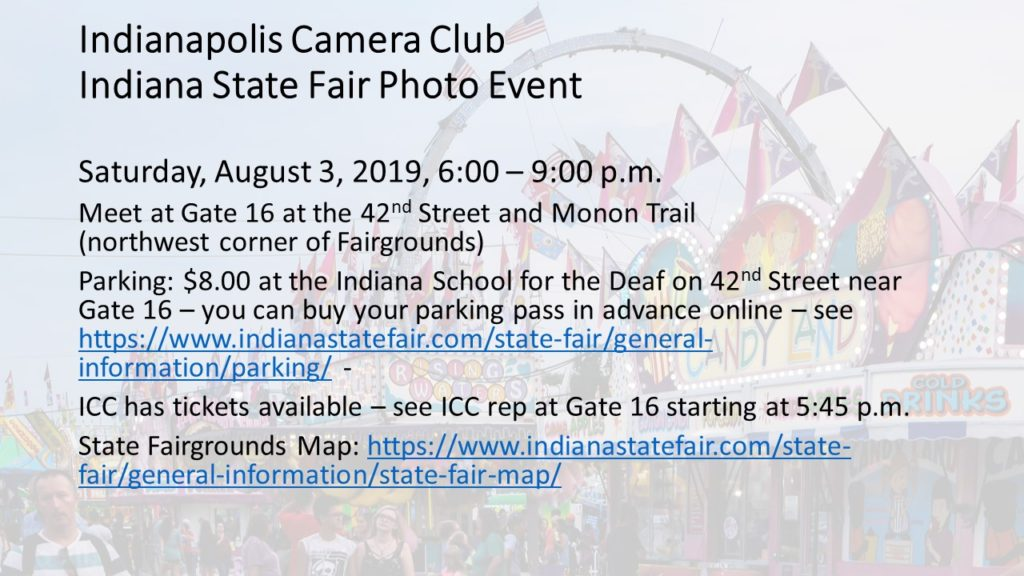 ICC event at Indiana State Fair Photo - August 3, 2019